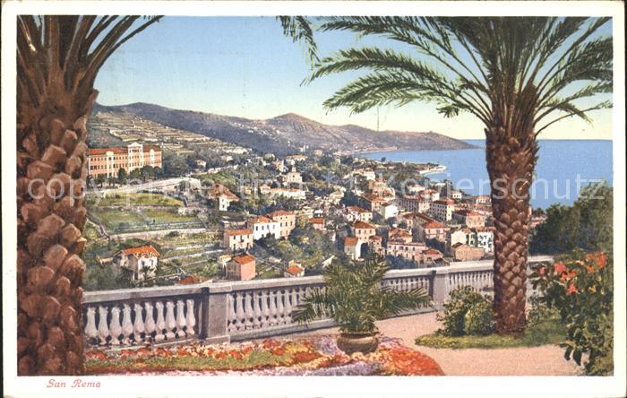 San Remo Vista San Remo Kat. San Remo