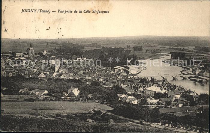 Ak joigny vue g n rale nr 6327476 oldthing ansichtskarten europa belgien frankreich luxemburg - La cote saint jacques joigny ...