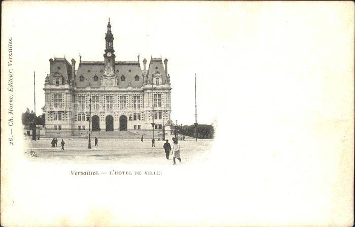 Versailles Yvelines Hotel de Ville Kat. Versailles