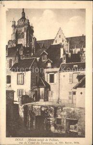 Dole Jura Maison natale de Pasteur Kat. Dole