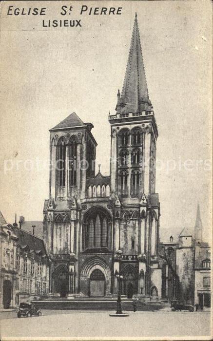 Lisieux Eglise Saint Pierre Kat. Lisieux