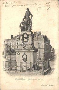 Chartres Eure et Loir Statue de Marceau Monument Kat. Chartres