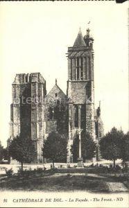 Dol de Bretagne Cathedrale Facade Kat. Dol de Bretagne