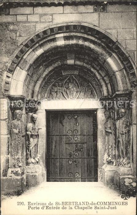 Saint Bertrand de Comminges Porte d Entre de la Chapelle Saint Just Kat. Saint Bertrand de Comminges