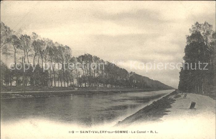 Saint Valery sur Somme Le Canal Kat. Saint Valery sur Somme