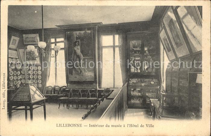 Lillebonne Interieur de musee a l Hotel de Ville Kat. Lillebonne Nr ...