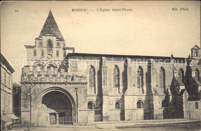 Moissac Eglise Saint Pierre Kat. Moissac