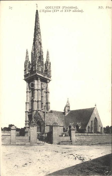 Goulven Eglise XVI siecle Kat. Goulven