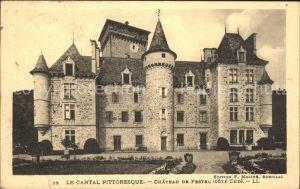 Polminhac Chateau de Pestel Collection Le Cantal Pittoresque Kat. Polminhac