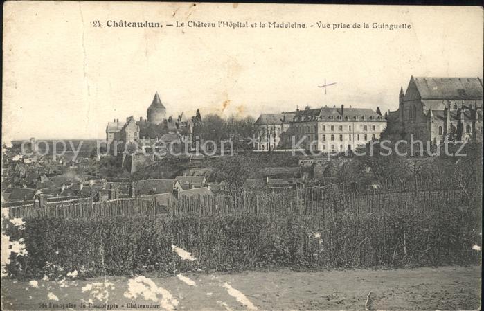Chateaudun Chateau l Hopital et la Madeleine Kat. Chateaudun