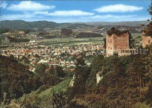 Oberkirch Baden mit Schauenburg Kat. Oberkirch