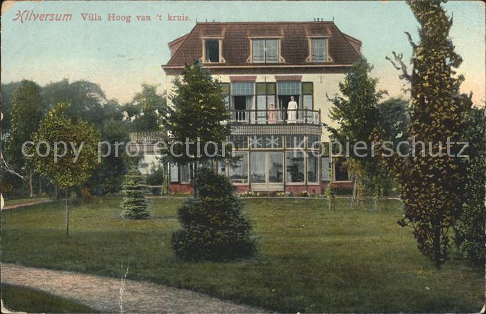 Hilversum Villa Hoog van t kruis Kat. Hilversum