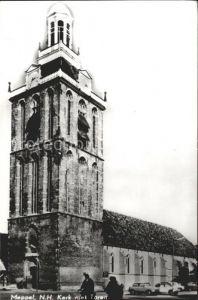 Meppel Ned Hervormde Kerk met Toren Kirche Kat. Meppel