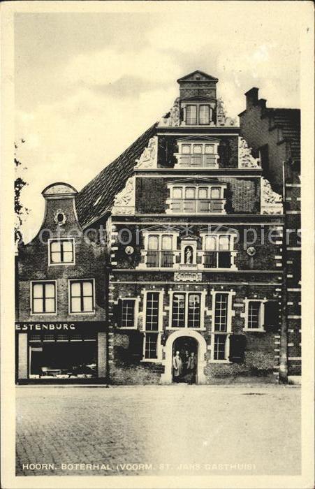 Hoorn Boterhal voormalige St Jacobs Gasthuis Kat. Hoorn