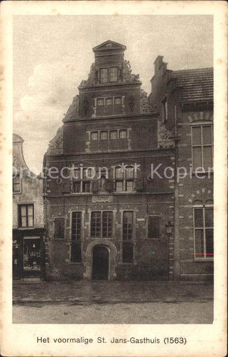 Hoorn Voormalige St Jans Gasthuis anno 1563 Kat. Hoorn