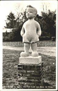 Assen Bartje te Assen naar het boek van Anne de Vries Skulptur Kat. Assen