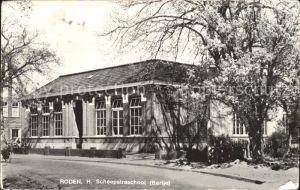 Roden Netherlands H. Scheepstraschool Kat. Roden