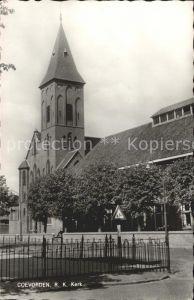 Coevorden RK Kerk Kirche Kat. Coevorden