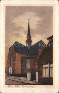 Coevorden Herv Kerk Kirche Kat. Coevorden