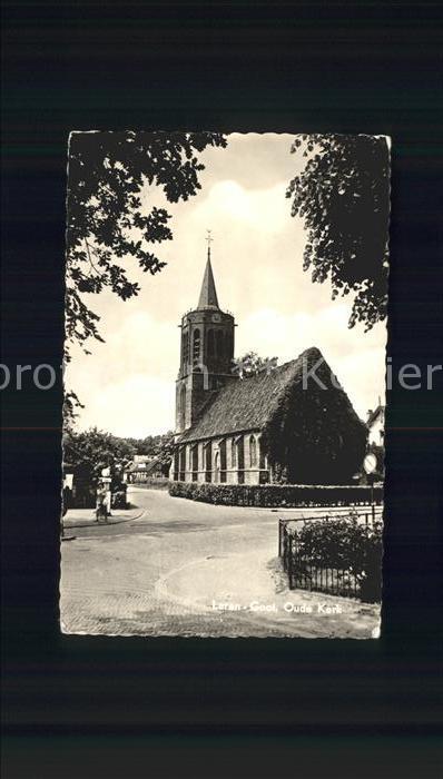 Laren Netherlands Oude Kerk Kirche Kat. Laren