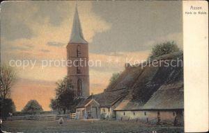 Assen Kerk de Rolde Kirche Kat. Assen