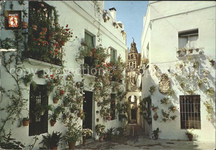 Cadiz Andalucia Calleja y Plaza de las Flores Kat. Cadiz