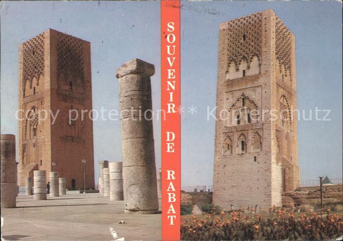 Rabat Rabat Sale Tour Hassan Kat. Rabat