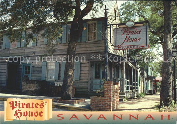 Savannah Georgia Pirates House Restaurant Kat. Savannah
