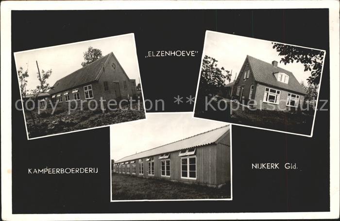 Kerk Avezaath Nijkerk Elzenhoeve Kampeerboerderij Kat. Kerk Avezaath