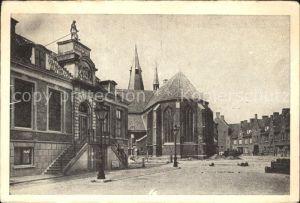 Wageningen Raadhusplein Raadhuis Kerk