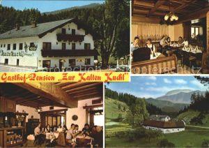 Kleinzell Muehlkreis Gasthof Pension Zur kalten Kuchl Gastraeume Kat. Kleinzell im Muehlkreis