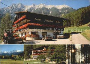 Obsteig Tirol Gasthof Aschlandhof Kat. Obsteig