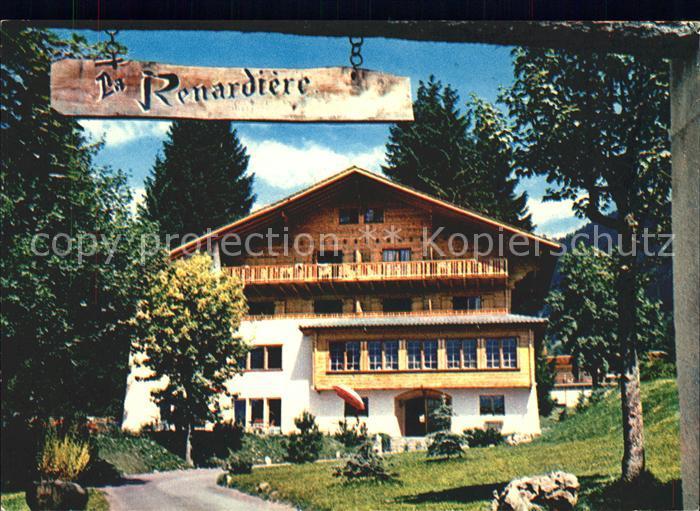 Villars sur Ollon Hotel La Renardiere Kat. Villars sur Ollon