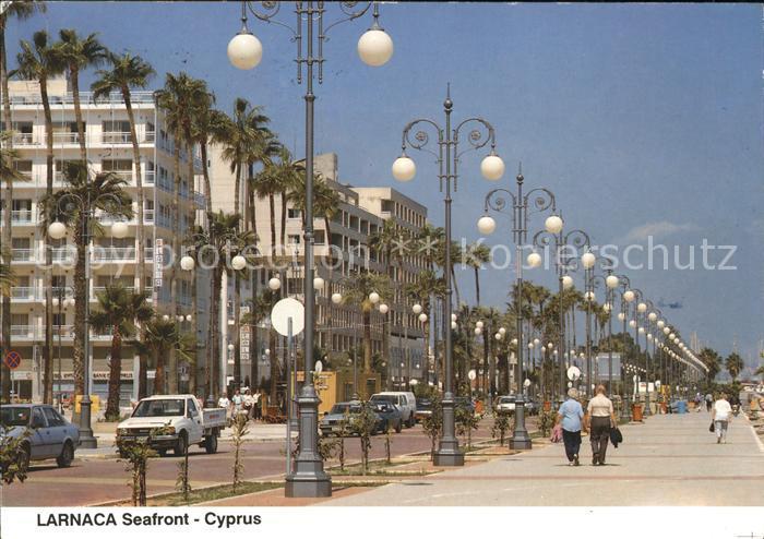 Larnaca Seafront Promenade Kat. Larnaca Cyprus