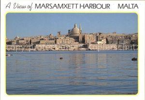 Valletta Marsamxett Harbour  Kat. Valletta
