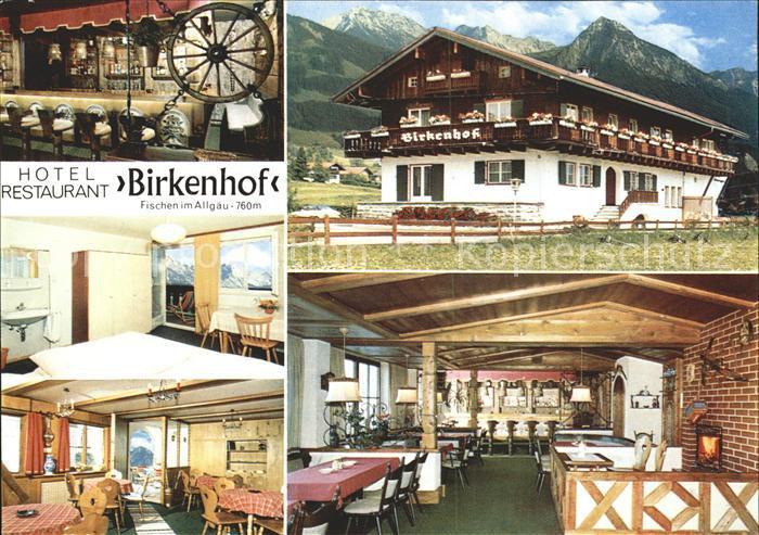 Fischen Allgaeu Hotel Restaurant Birkenhof Kat Fischen I Allgaeu