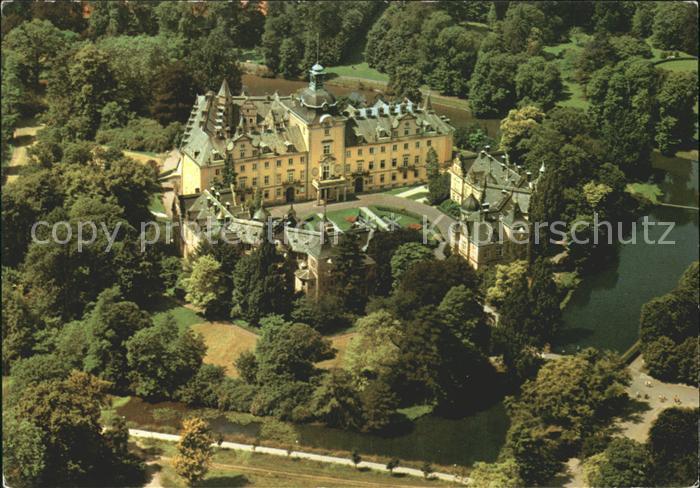 Bueckeburg Schloss Bueckeburg Fliegeraufnahme Kat. Bueckeburg