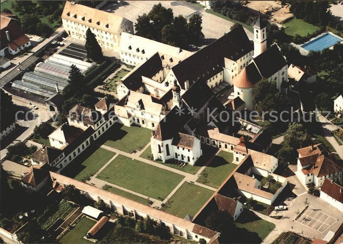 Buxheim Oberbayern Kartause Buxheim Fliegeraufnahme Kat. Buxheim