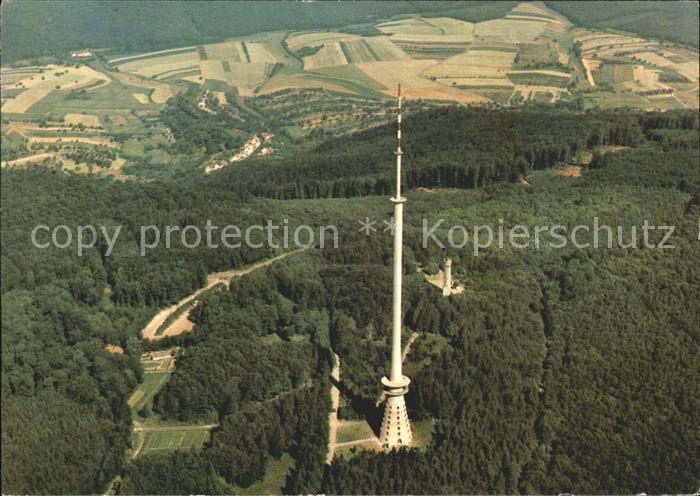 Dannenfels Donnersberg Fernsehturm Ludwigsturm Fliegeraufnahme Kat. Dannenfels