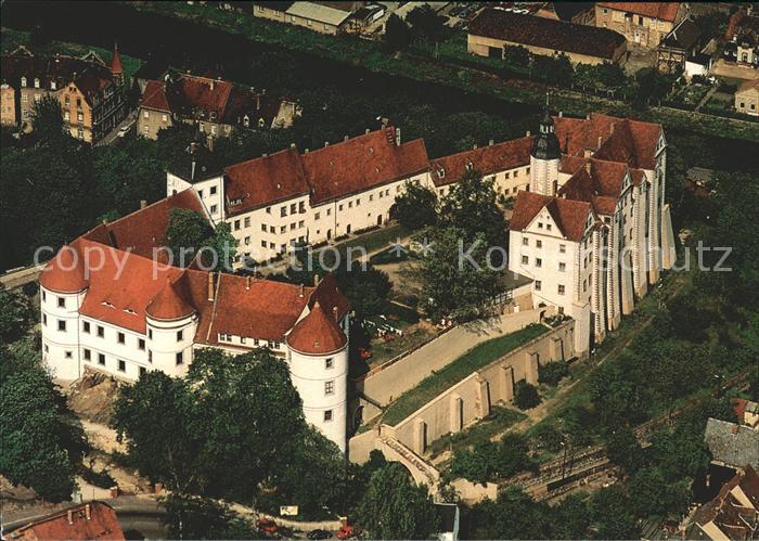 Nossen Schloss Nossen Fliegeraufnahme Kat. Nossen