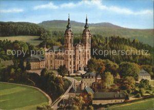 Vierzehnheiligen Basilika Vierzehnheiligen Fliegeraufnahme Kat. Bad Staffelstein