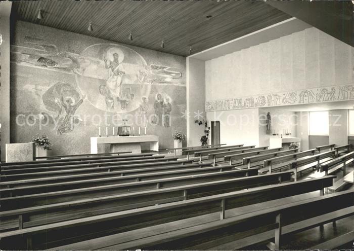 Appenzell IR Studentenkapelle Kollegium St Antonius Kat. Appenzell