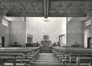 Pontresina Inneres der Katholischen Heilig Geist Kirche Kat. Pontresina