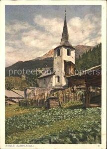 Stuls Albulatal Kirche Kat. Stuls