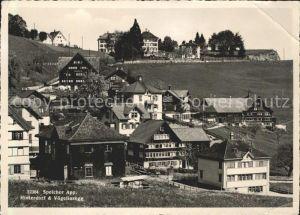 Speicher AR Hinterdorf und Voegelinsegg / Speicher /Bz. Mittelland