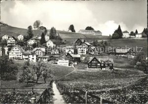 Speicher AR Hinterdorf mit Voegelinsegg und Kurhaus Beutler / Speicher /Bz. Mittelland