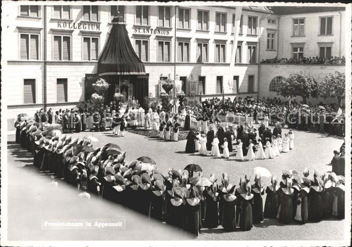Appenzell IR Fronleichnam Kollegium St. Antonius Kat. Appenzell