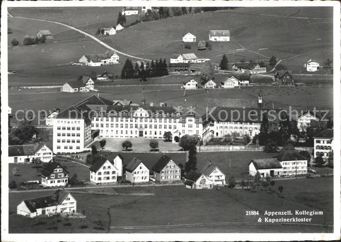 Appenzell IR Kollegium St. Antonius und Kapuzinerkloster Kat. Appenzell