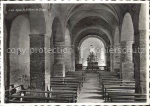 St Pierre de Clages Interieur de l Eglise Kat. St Pierre de Clages