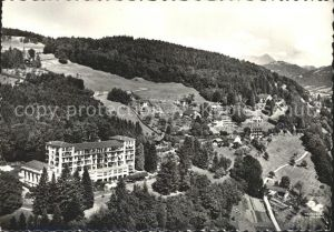 Mont Pelerin Vue aerienne Kat. Mont Pelerin